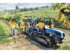 TK4000 working in an orchard