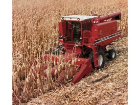 In 1977 International harvester introduces the Axial-Flow combine