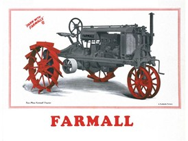 In 1924, the legendary Farmall tractor is launched