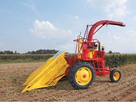 In 1961 New Holland developed the first self-propelled forage harvester