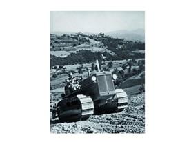 В 1931 году Fiat разработал первый гусеничный трактор.
