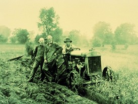 Ford developed the world's first mass produced tractor in 1917