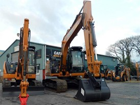 J Mousley & Sons add CASE Construction Equipment excavators to its fleet