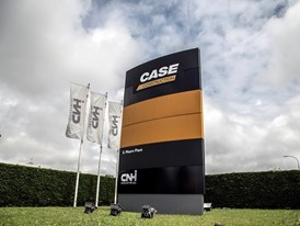 Case Construction Equipment's facility in San Mauro, Italy