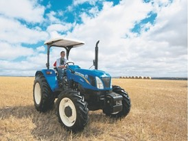 New Holland Agriculture TT4.55 Tractor in the Field
