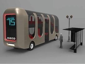 Iveco Bus design project by Transport Design students at L'École de design Nantes Atlantique