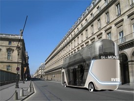 Iveco Bus design project by Transport Design students at L'École de design Nantes Atlantique