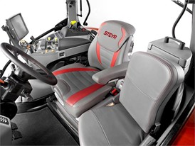 Steyr Profi CVT Tractor Cab