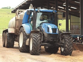 New Holland Agriculture T6 Prototype Bio-Methane Powered Tractor