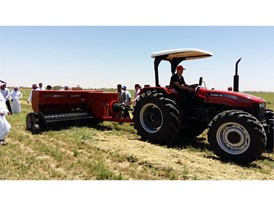 Case IH Hay and Forage Training Camp in Saudi Arabia