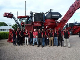 Case IH organized a workshop for its key sugar cane customers from Africa and the Middle East, in Australia