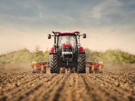 Case IH Maxxum Tractor in the Field