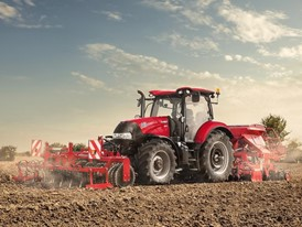 Case IH Maxxum CVX Tractor in the Field