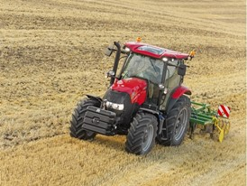 Case IH Maxxum Tractor in the Field
