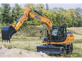 Case Construction Equipment Wheeled Excavator