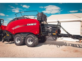 The new LB434XL 3x4 large square baler from Case IH
