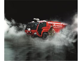 The Magirus Dragon Airport Firefighting Vehicle