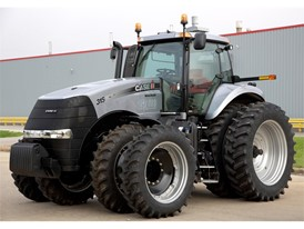 Like all Magnum tractors, this 150,000th Case IH Magnum tractor is unique and custom-built.