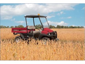 Case IH recently gave a new Scout™ utility vehicle to Mark Taylor from Belmont, Ontario.