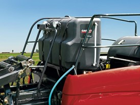The new 600 Series Automatic Applicator System for Case IH large square balers