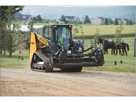 New Holland CTL New Tracks