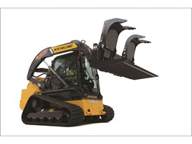 New Holland CTL featuring updated low-profile undercarriage design