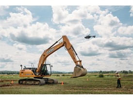 Miller-Bradford and CASE provided skid steers, excavators and compact excavators, as well as training support