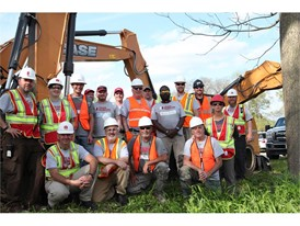 CASE Construction Equipment, Southeastern Equipment and Paladin Attachments provided equipment and product support