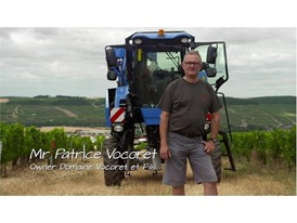 Patrice Vocoret, owner of the Domaine Vocoret winery in Chablis