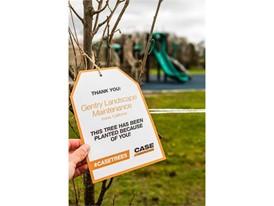 CASE Construction Equipment's #CASETrees social media event
