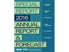 2016 Annual Report and Forecast cover