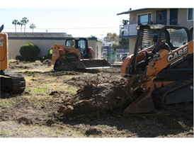CASE Construction Equipment and Sonsray Machinery have provided the use of a mid-sized excavator