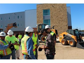 Moore has partnered with CASE on numerous projects honoring construction workers and veterans