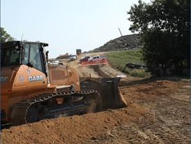 Project featured two of CASE's flagship machines for the oil and gas market: the CX350D excavator and 2050M Dozer