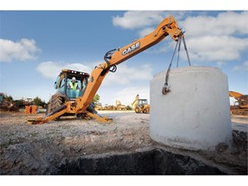 In the world of the backhoe, a little extra counterweight provides added stability