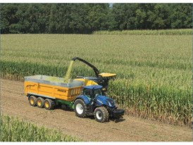New Holland will offer NIR On BoardTM as an option on the FR Forage Cruiser