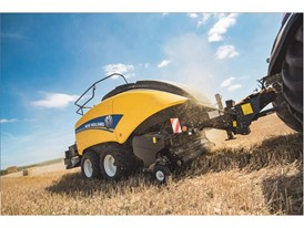 New Holland raises the stakes on bale density