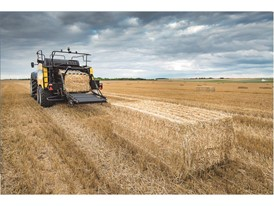 New Holland's latest Large Square Baler