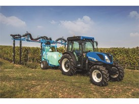 New Holland renews specialty tractor offering with new T4 FNV Series here in sprayer configuration