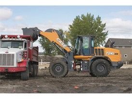 CASE 721G, one of 7 new models released by CASE Construction Equipment