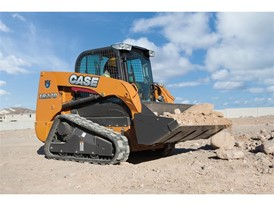 Tracked, Radial Lift Design compact track loader
