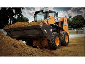 Tired, Radial Lift Design Skid Steer Loader