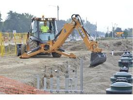 New CASE 580N EP backhoe loader provides a maintenance-free Tier 4 Final solution