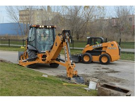 CASE N Series Backhoes Go Tier 4 Final; New Model Introduced: The 580N EP