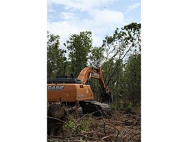 South Carolina company converts 1,900 acres into farmland with the help of CASE excavators, dozers.