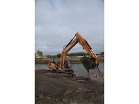 Gagne Excavation, a family-owned business in Casselman, Ontario, recently purchased the first CASE CX350D excavator