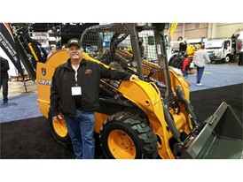 Show attendees had the opportunity to win a CASE SV280 skid steer at the manufacturer's booth.
