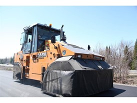 Fowler Construction recently added two PT240 pneumatic tire rollers to its asphalt paving fleet