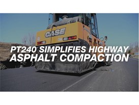 PT240 Simplifies Highway Asphalt Compaction