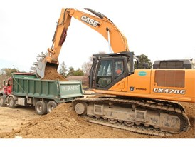 Rafat General Contracting has relied on the CX470C excavator in its heavy excavation applications.